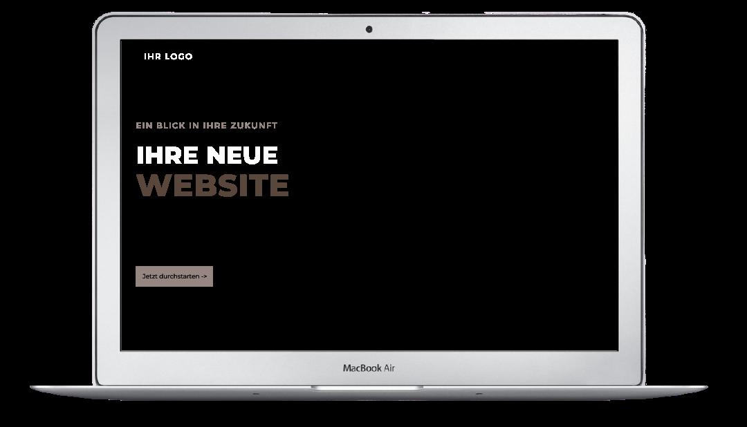 Ihre neue Website